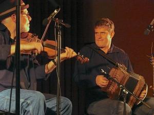 Fiddler, accordion player